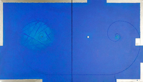 PLASMA MANIFOLD (STARSHIP)  1  910mm×530mm  F10×2   Acrylic, wood   2017