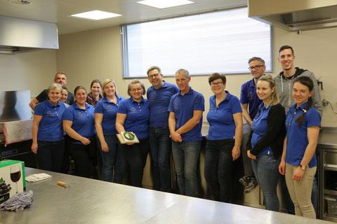 Gruppenfoto Feste-Feiern-Team