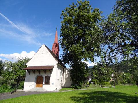 Kapelle St. Martin und Petronilla von außen