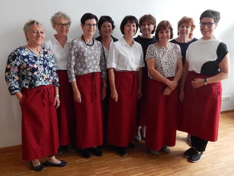Gruppenfoto der katholischen Frauenrunde