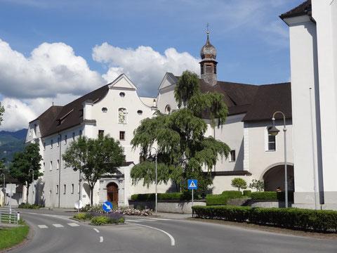 Bild der Klosterkirche in Altenstadt