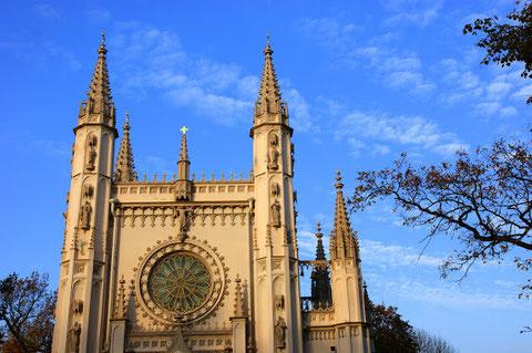 Капелла. Церковь святого Александра Невского. Петергоф
