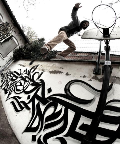 """""""Etre enfermé, là n'est pas la question, le tout est de ne pas se rendre.""""Nazim.H / Picture by DonQuick Shot"""