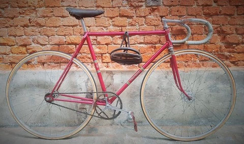 Diamant Bahnrad Modell 177 Baujahr 1957