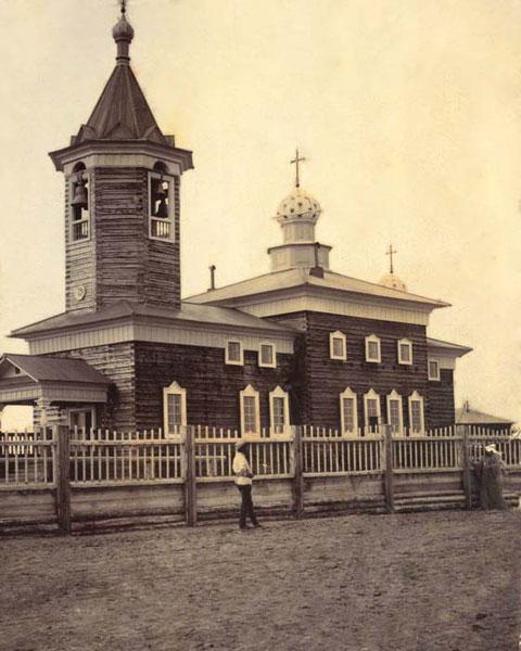 Николаевский собор в Вилюйске