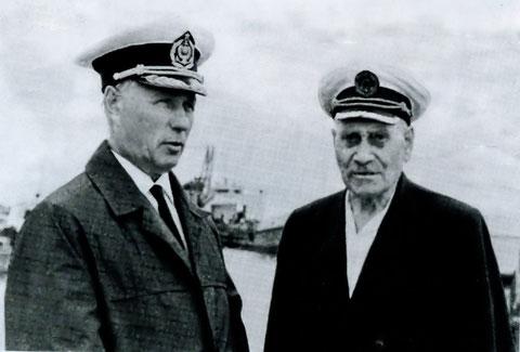 П.Н. Иванов и Н.С. Горовацкий