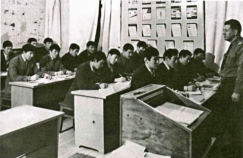 Курс военной истории на кафедре.