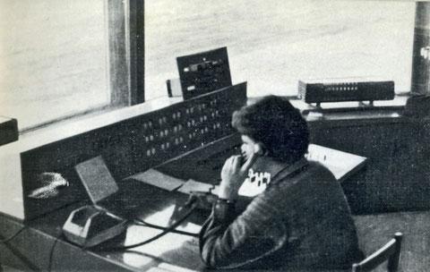 В диспетчерской карьера трубки «Мир». Якутия