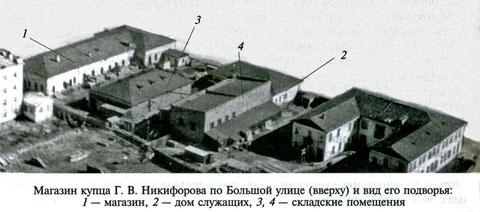 Строения, принадлежавшие якутскому купцу Г.В. Никифорову