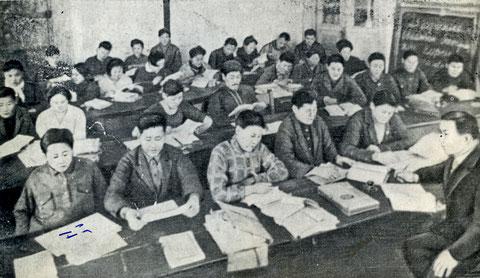 Слушатели курсов батраков в Якутске
