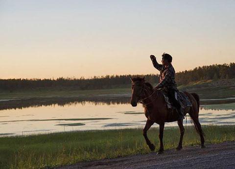 Пастух. Якутия. Фото Айар Варламов