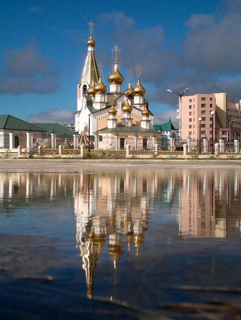 Градо-Якутская Преображенская церковь