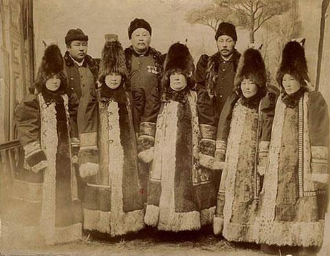 семья якутского князя