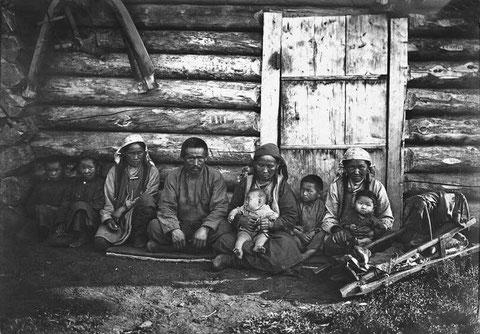 Семья якутского бедняка