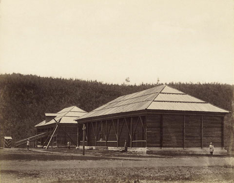 Тюремные склады в Усть-Каре