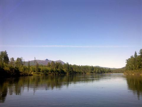 Река Витим.