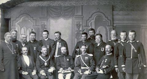 Николай Второй и якутское губернское руководство