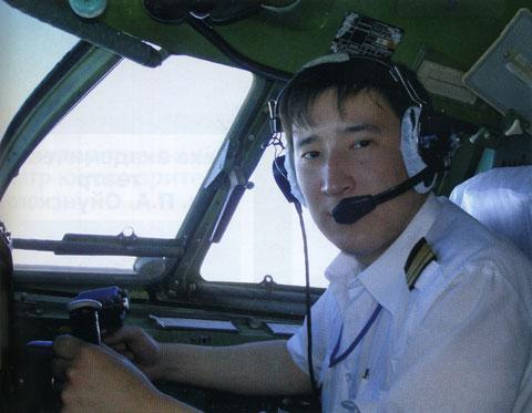 якутский пилот Афанасий Иванов