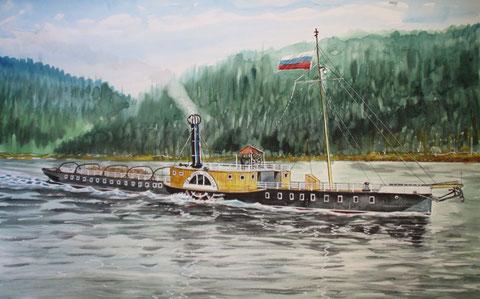"""Пароход """"Св. Тихон Задонский"""""""