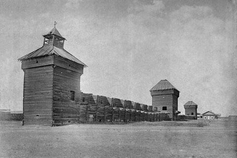 Башни Якутского острога