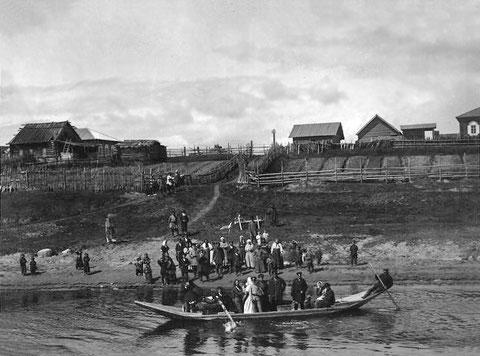 Пристань. Якутия. Начало 20 века