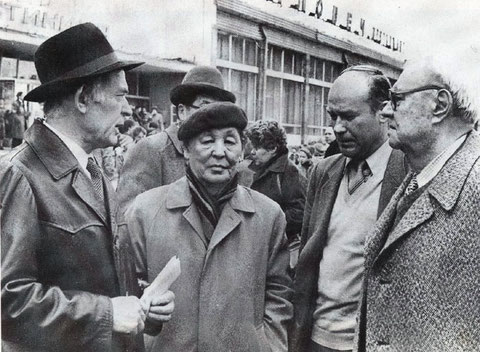 С.Данилов в Москве 1982 г