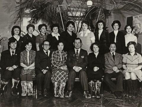 Служба перевозок ЛОРП 1983 г