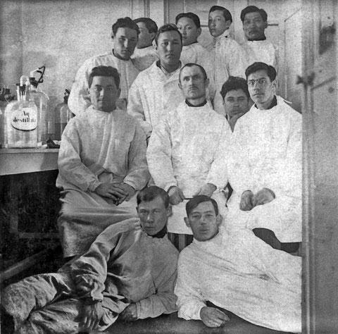 Сотрудники ветеринарной станции Якутска