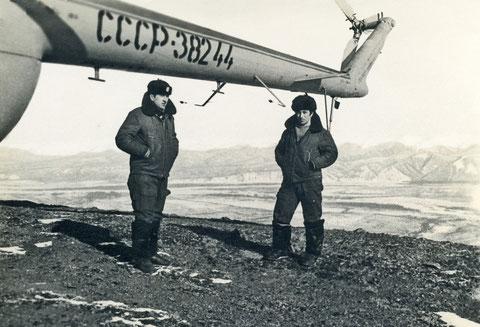 Якутские авиаторы в Алданском районе