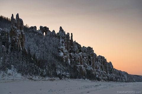 Ленские столбы. Якутия. Фото Айар Варламов