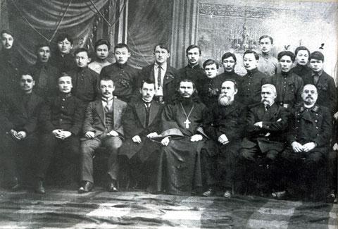 Первый выпуск реального училища 1912 г