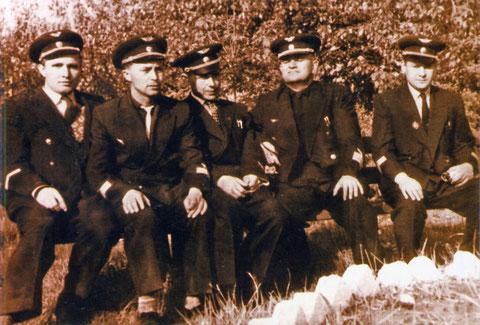 Экипаж 139 ЛО. 1962 г.