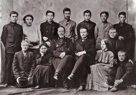 Якутская фельдшерская школа 1906-1907 год