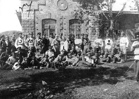 Бойцы отряда генерала Пепеляева
