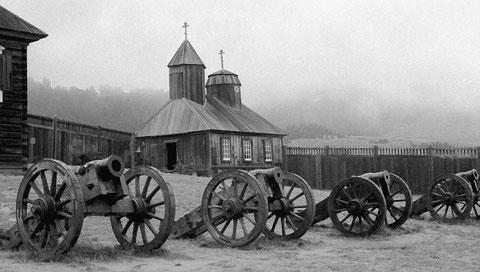 Пушки Форт Росс