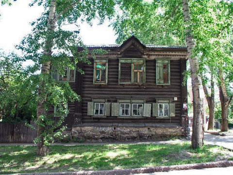 Фамильный дом Пепеляевых в Томске.