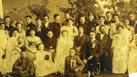 Свадьба. Якутск 1910 г.