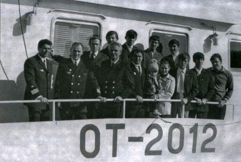 Бабичев с экипажем ОТ-2012