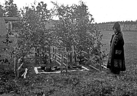 Подготовка к празднику. Якутия. Фото 19 в.