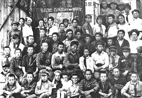 Съезд пионеров Якутии