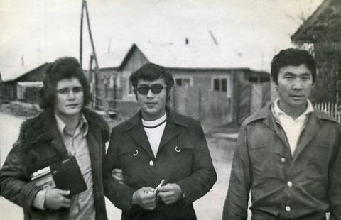 На улице Жатая. 70-е годы