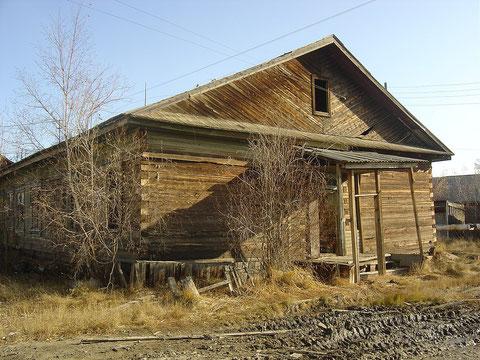 Один из первых домов в Жатае