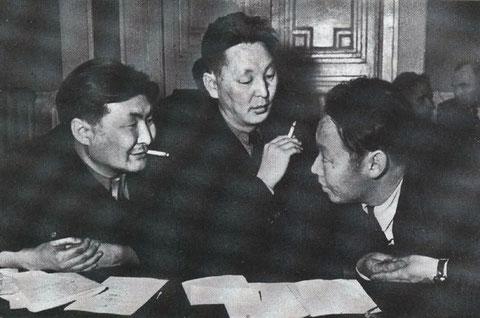 Л.Попов, С.Данилов, Н.Габышев