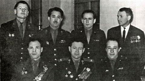 Первые офицеры военной кафедры 1968 г.