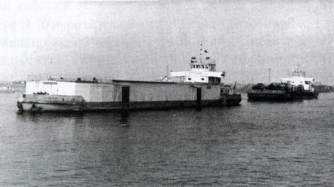 Суда Ленского речного пароходства. Якутия, 1960 год