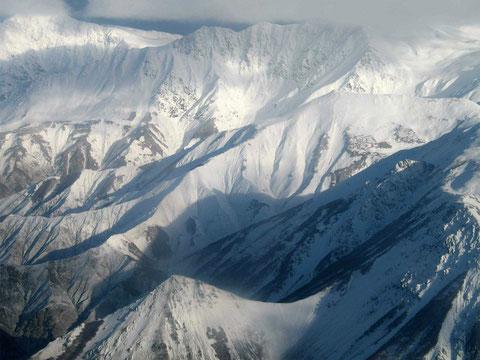 Хребет Камчатского мыса недалеко от Усть-Камчатска.