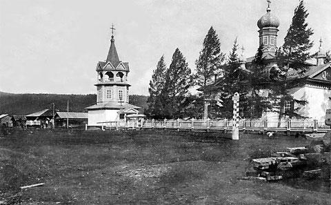 Чечуйское. Церковь Воскресения Христова
