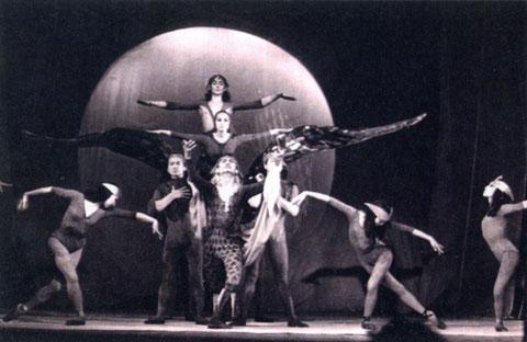 Балет «Орлы летят на север» Г. Комракова. 1969 г.