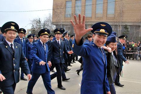 Молодое поколение авиаторов Якутии. Фото Айар Варламов