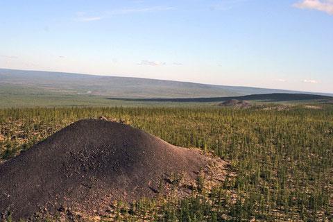 Снимок местности «Елюю Черкечех». Якутия. Из сети Интернет